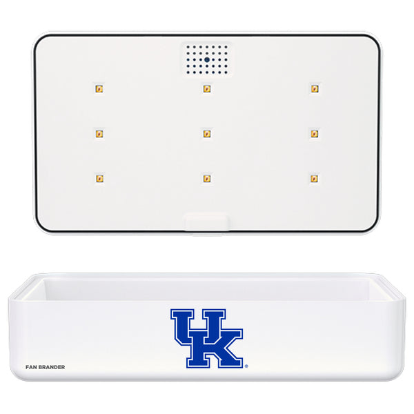 Portable UV Smart Phone Sterilizer with Fast Wireless Charger with Kentucky Wildcats Primary Logo