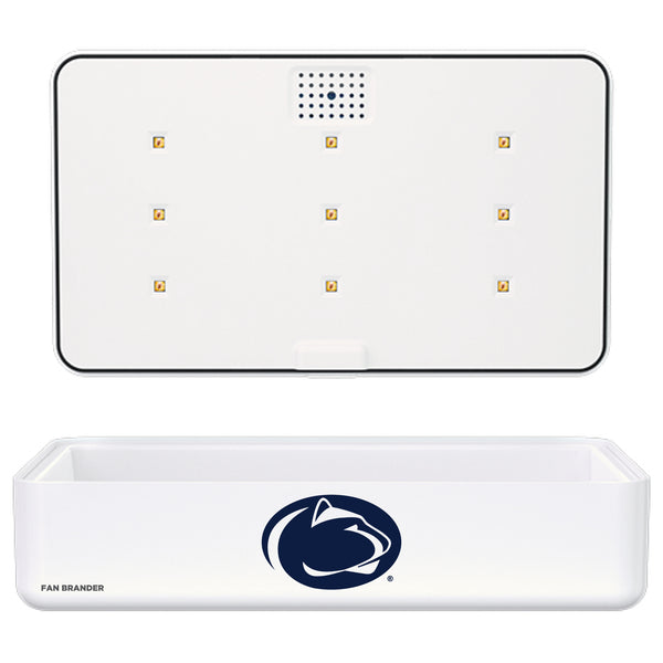 Portable UV Smart Phone Sterilizer with Fast Wireless Charger with Penn State Nittany Lions Primary Logo