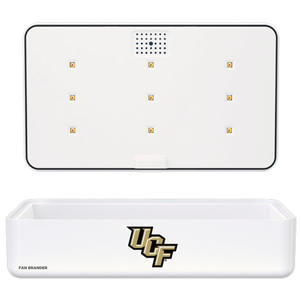 Portable UV Smart Phone Sterilizer with Fast Wireless Charger with UCF Knights Primary Logo