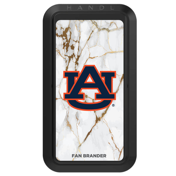 Black HANDLstick with Auburn Tigers Primary Logo with White Marble