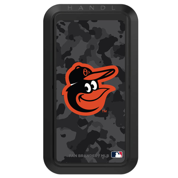 Black HANDLstick with Baltimore Orioles Urban Camo design
