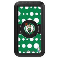 Black HANDLstick with Boston Celtics Primary Logo with Polka Dots