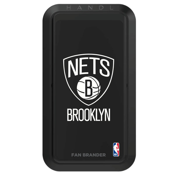 Black HANDLstick with Brooklyn Nets Primary Logo