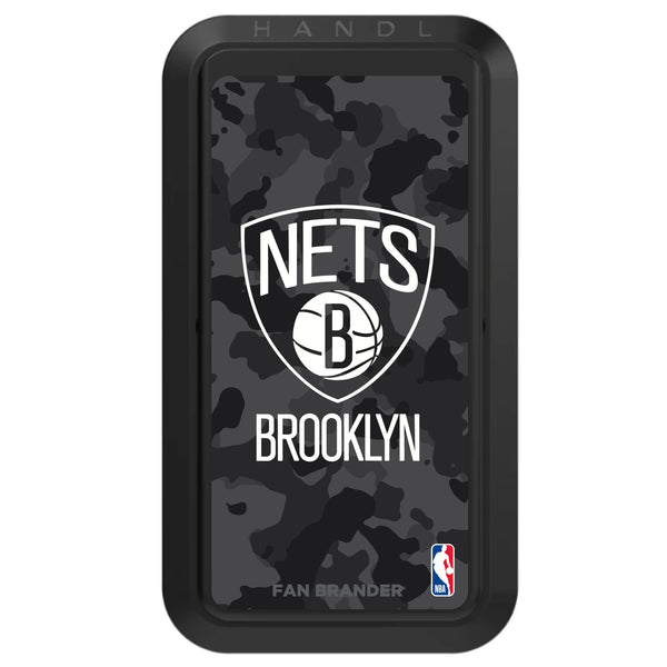 Black HANDLstick with Brooklyn Nets Urban Camo design