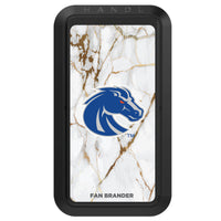 Black HANDLstick with Boise State Broncos Primary Logo with White Marble