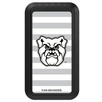 Black HANDLstick with Butler Bulldogs Primary Logo with Stripes