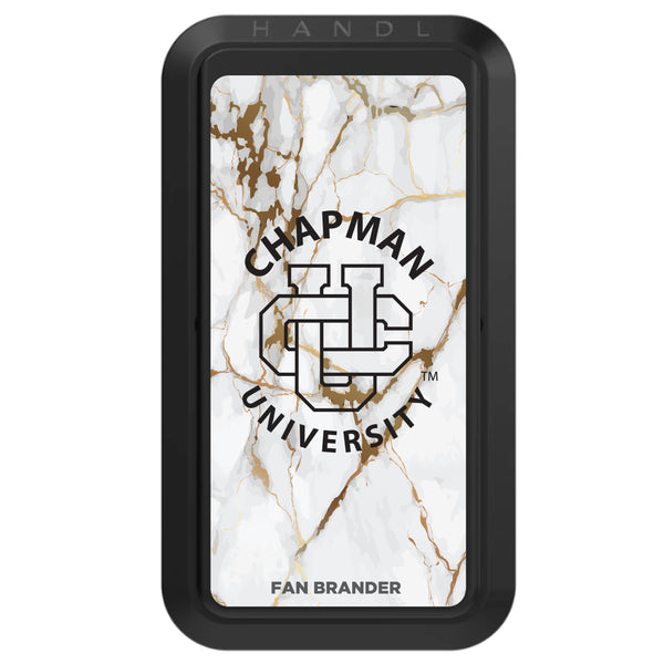Black HANDLstick with Chapman Univ Panthers Primary Logo with White Marble