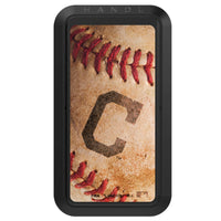 Black HANDLstick with Cleveland Indians Baseball Background