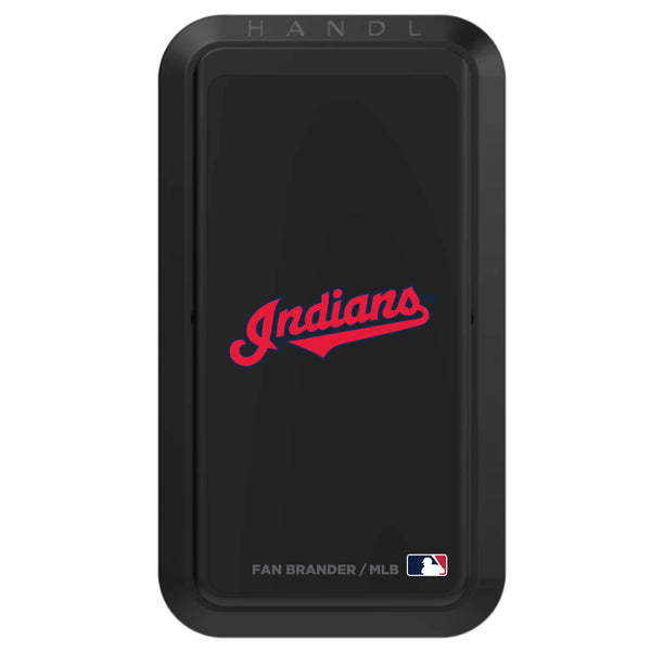 Black HANDLstick with Cleveland Indians Secondary Logo