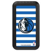 Black HANDLstick with Dallas Mavericks Primary Logo with Stripes