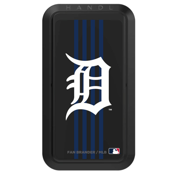 Black HANDLstick with Detroit Tigers Vertical Stripe