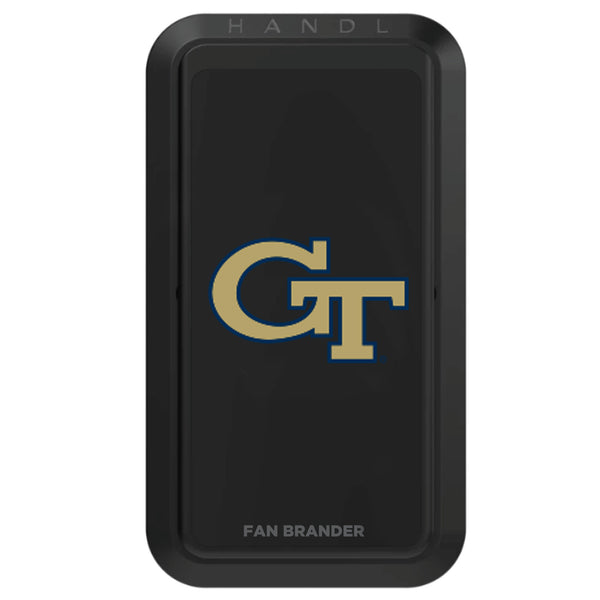 Black HANDLstick with Georgia Tech Yellow Jackets Primary Logo