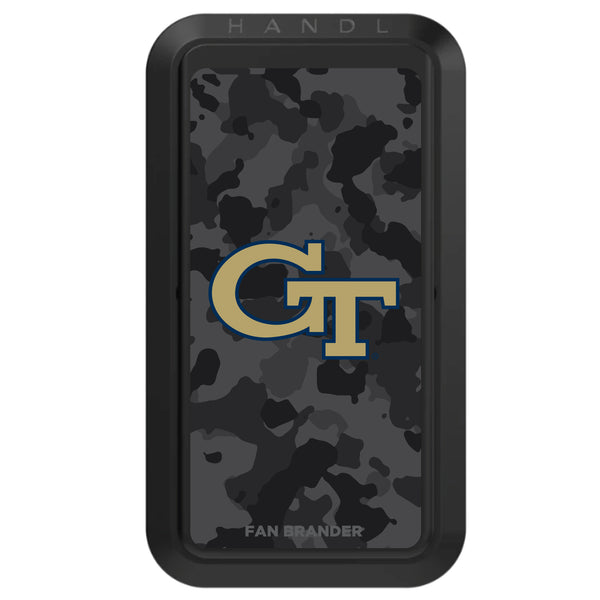 Black HANDLstick with Georgia Tech Yellow Jackets Urban Camo design
