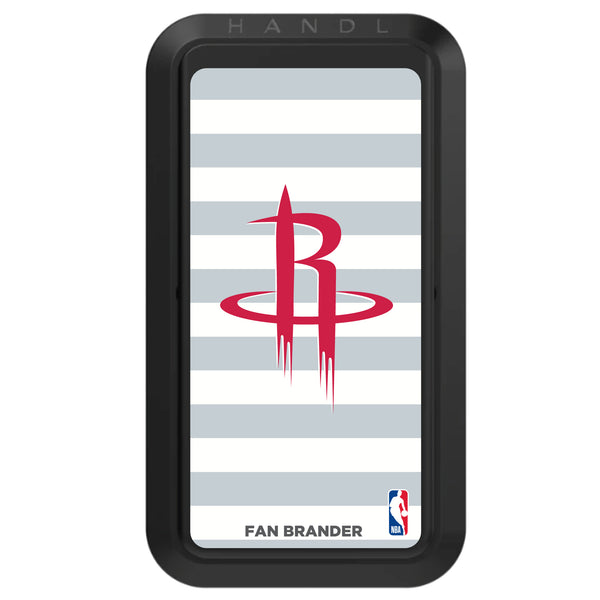 Black HANDLstick with Houston Rockets Primary Logo with Stripes