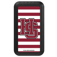 Black HANDLstick with Hampden Sydney Primary Logo with Stripes