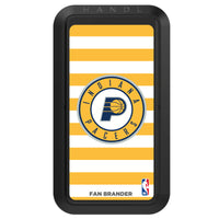 Black HANDLstick with Indiana Pacers Primary Logo with Stripes