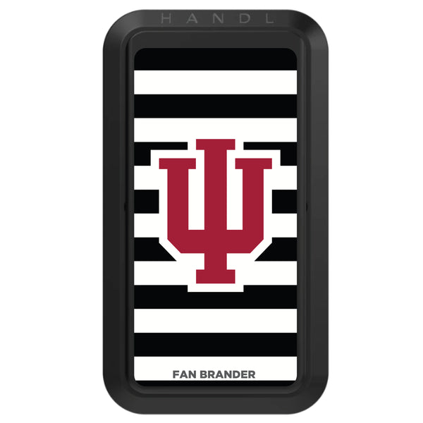 Black HANDLstick with Indiana Hoosiers Primary Logo with Stripes