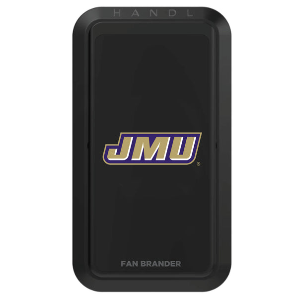Black HANDLstick with James Madison Dukes Primary Logo