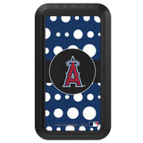 Black HANDLstick with Los Angeles Angels Polka Dots