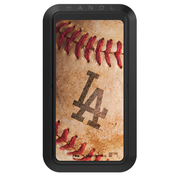 Black HANDLstick with Los Angeles Dodgers Baseball Background