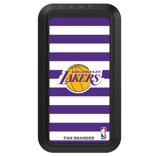 Black HANDLstick with LA Lakers Primary Logo with Stripes