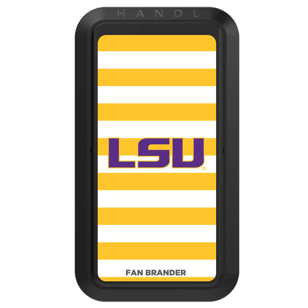 Black HANDLstick with LSU Tigers Primary Logo with Stripes