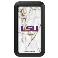 Black HANDLstick with LSU Tigers Primary Logo with White Marble