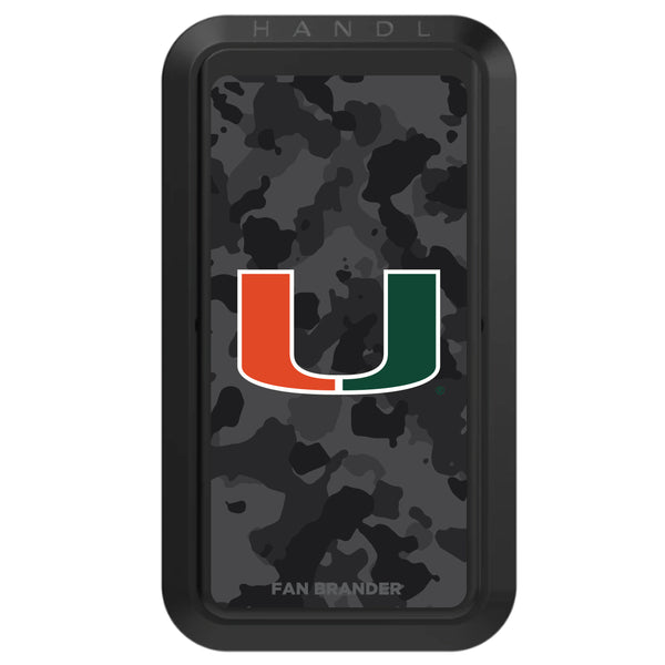 Black HANDLstick with Miami Hurricanes Urban Camo design