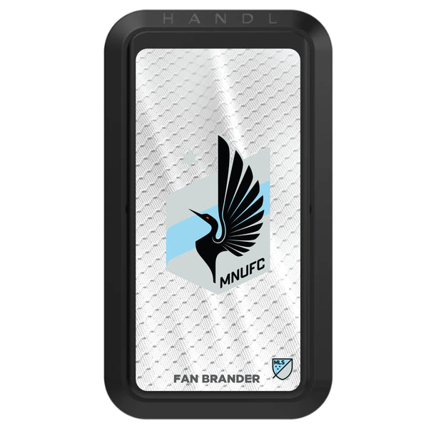 Black HANDLstick with Minnesota United FC Primary Logo with Jersey design