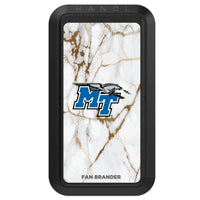 Black HANDLstick with Middle Tennessee State Blue Raiders Primary Logo with White Marble