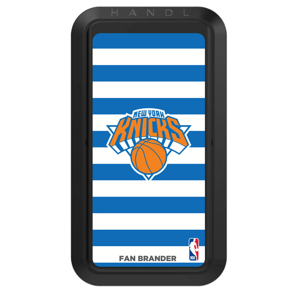 Black HANDLstick with New York Knicks Primary Logo with Stripes