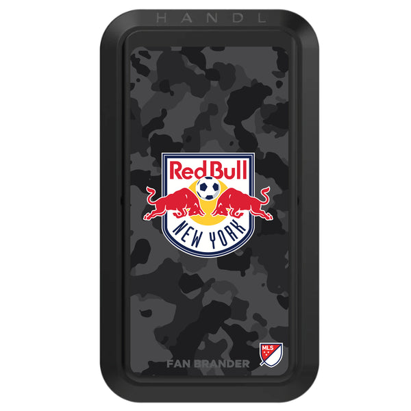 Black HANDLstick with New York Red Bulls Urban Camo design