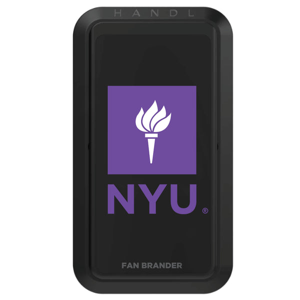 Black HANDLstick with NYU Primary Logo