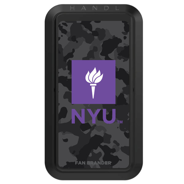 Black HANDLstick with NYU Urban Camo design