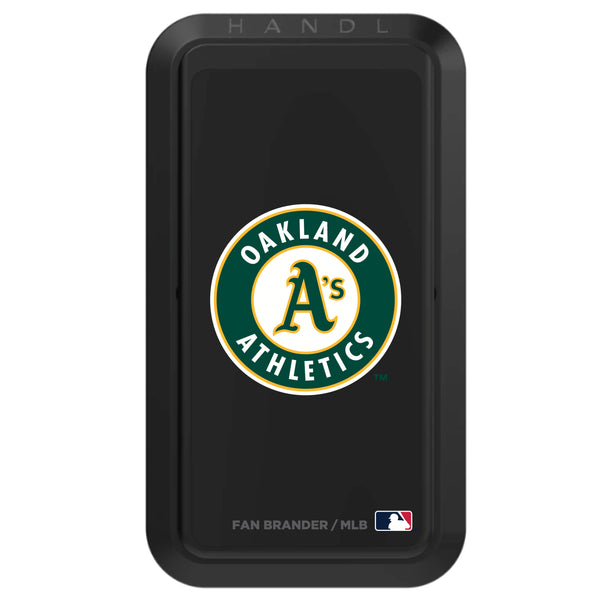 Black HANDLstick with Oakland Athletics Secondary Logo