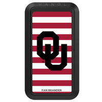 Black HANDLstick with Oklahoma Sooners Primary Logo with Stripes