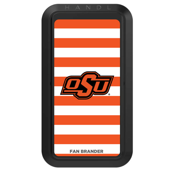 Black HANDLstick with Oklahoma State Cowboys Primary Logo with Stripes