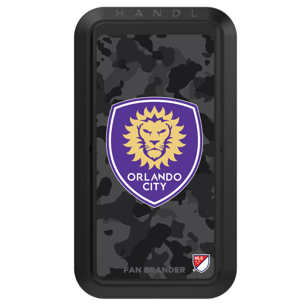 Black HANDLstick with Orlando City SC Urban Camo design