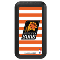 Black HANDLstick with Phoenix Suns Primary Logo with Stripes