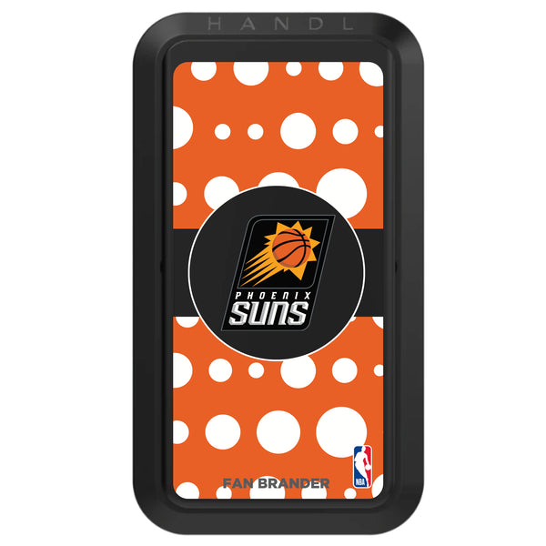 Black HANDLstick with Phoenix Suns Primary Logo with Polka Dots