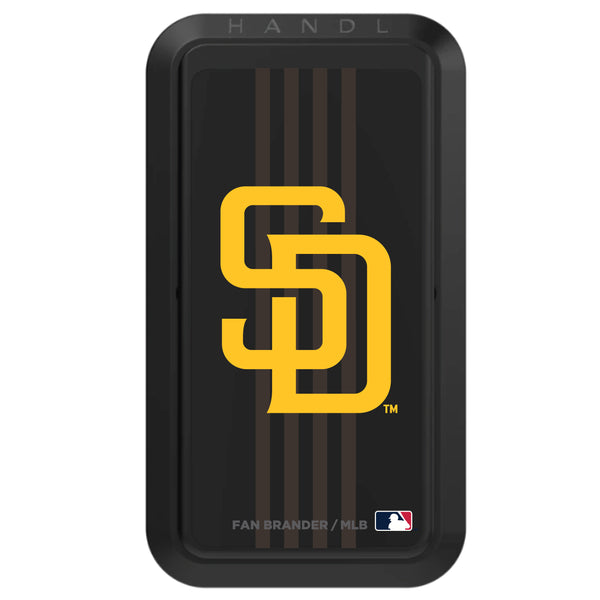 Black HANDLstick with San Diego Padres Vertical Stripe