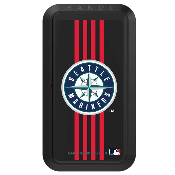 Black HANDLstick with Seattle Mariners Vertical Stripe