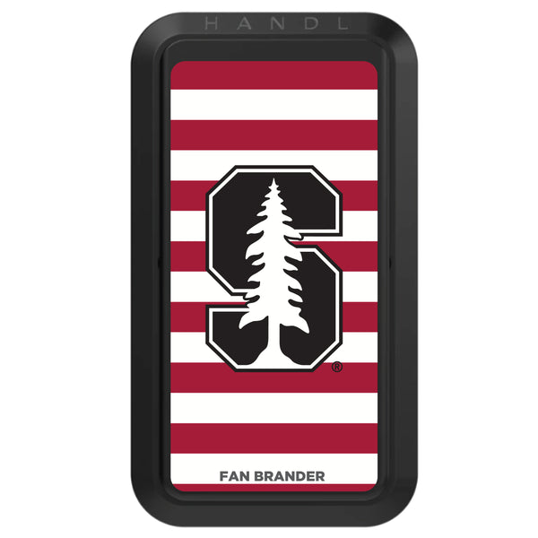 Black HANDLstick with Stanford Cardinal Primary Logo with Stripes