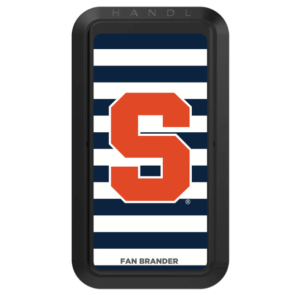 Black HANDLstick with Syracuse Orange Primary Logo with Stripes