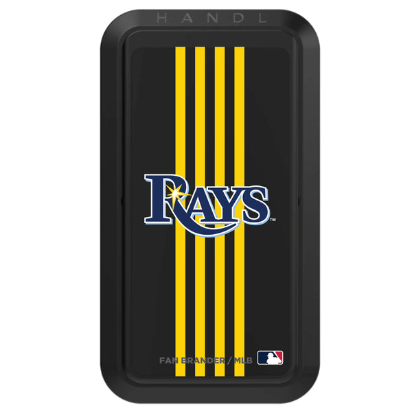 Black HANDLstick with Tampa Bay Rays Vertical Stripe