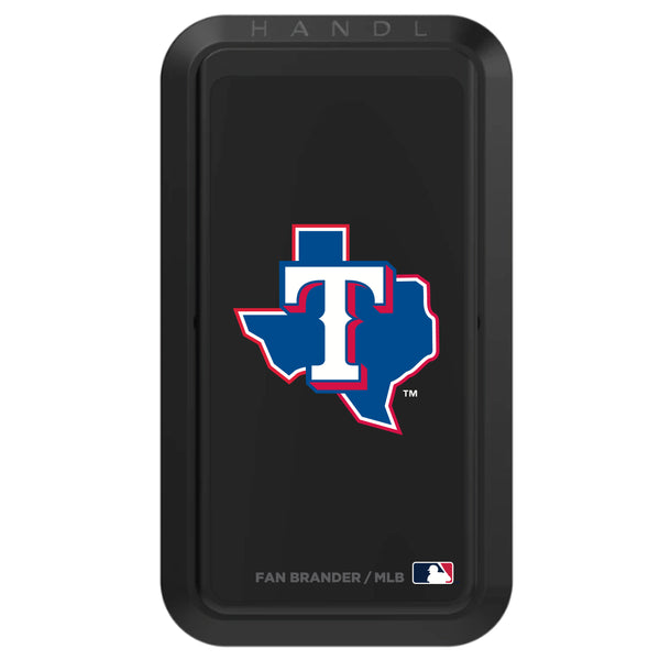 Black HANDLstick with Texas Rangers Secondary Logo