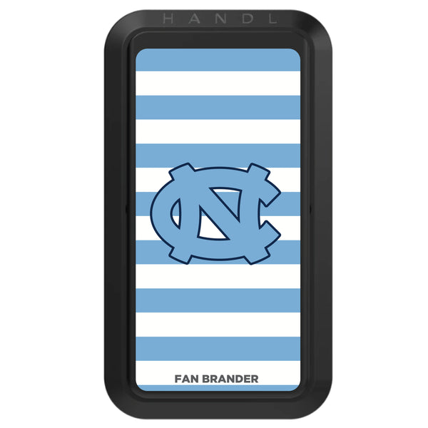 Black HANDLstick with UNC Tar Heels Primary Logo with Stripes