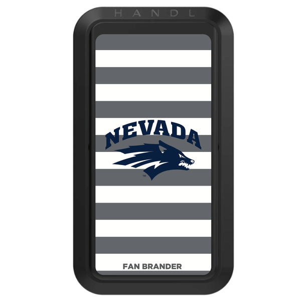 Black HANDLstick with Nevada Wolf Pack Primary Logo with Stripes
