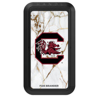 Black HANDLstick with South Carolina Gamecocks Primary Logo with White Marble