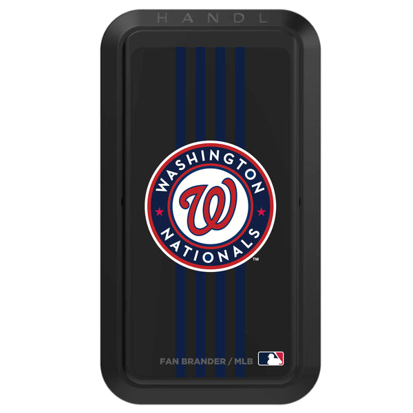 Black HANDLstick with Washington Nationals Vertical Stripe